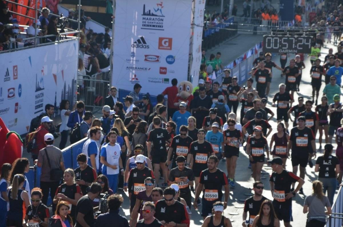 Condorito corriendo la maratón 2019 / gentileza