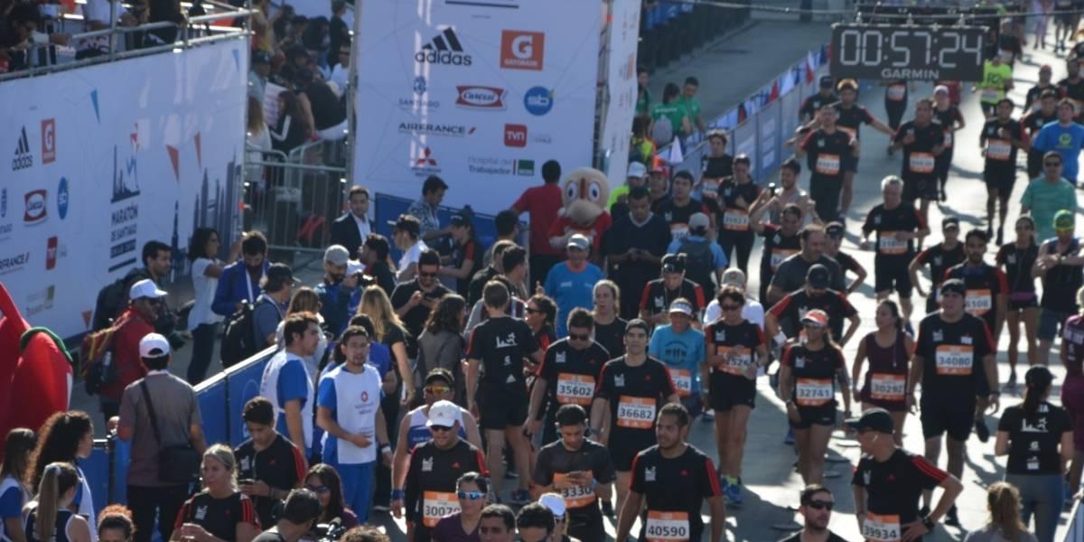 La desgracia que enluta la corrida: conocido asesor político falleció en medio de la Maratón de Santiago