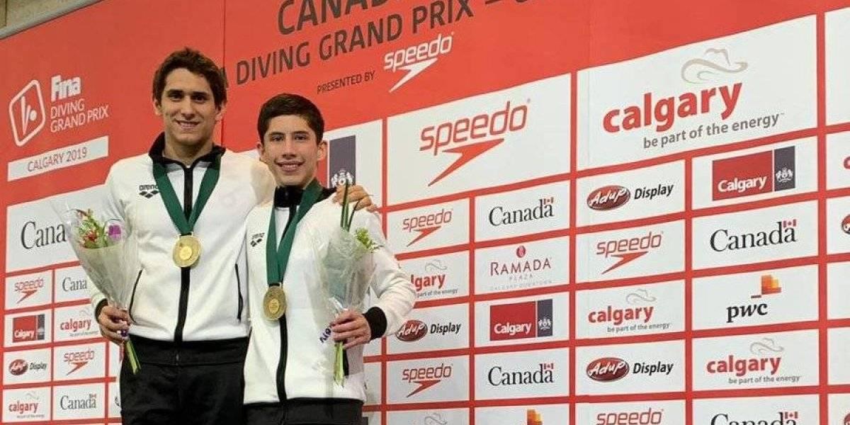 Mexicanos Balleza y Willars se cuelgan el oro en el Grand Prix de Canadá