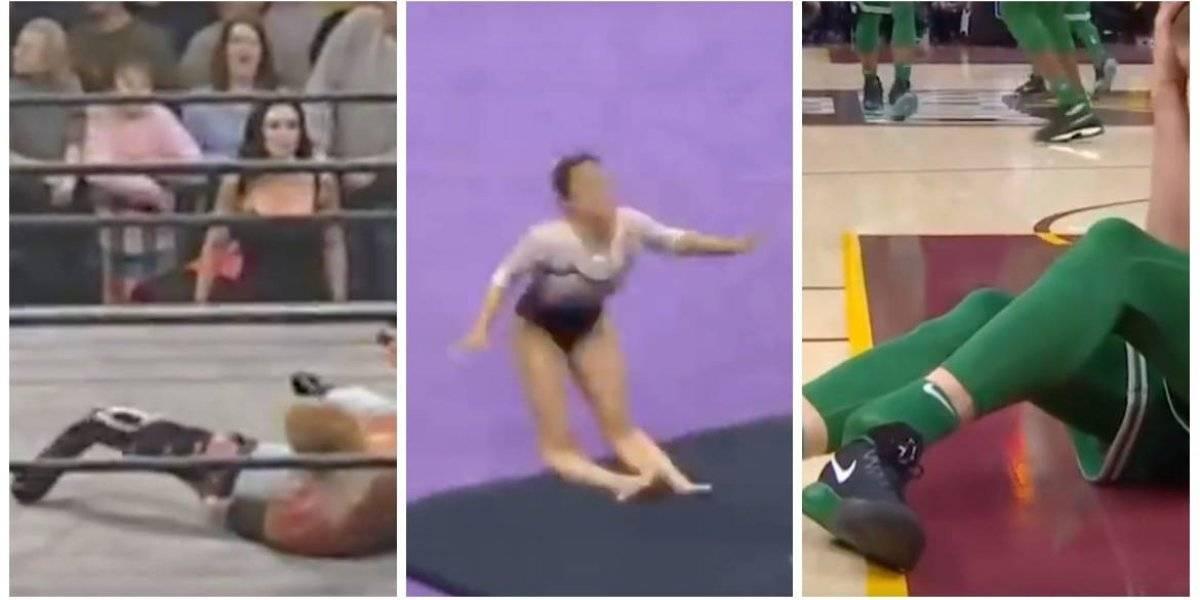 10 lesiones similares a la de gimnasta Samantha Cerio