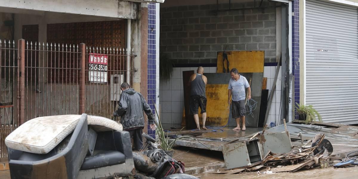 Santo André autoriza saque do FGTS para as vítimas da chuva