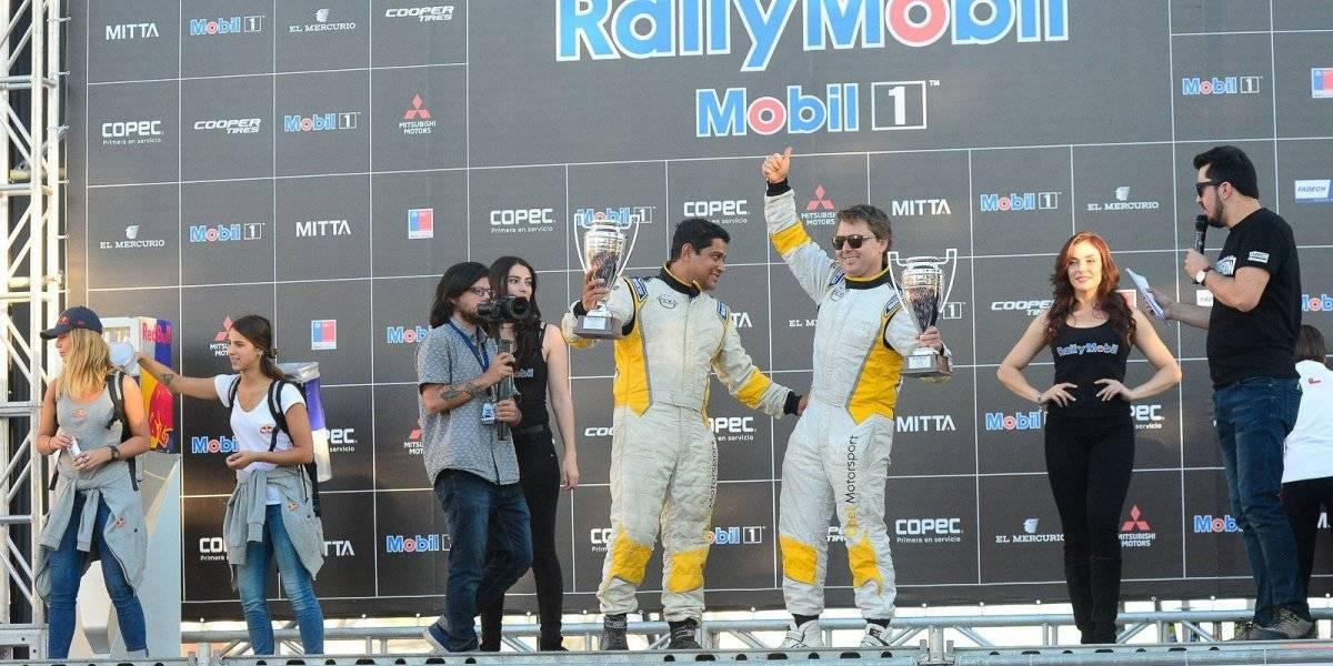 Eduardo Kovacs se subió al podio del Rally de Los Ángeles