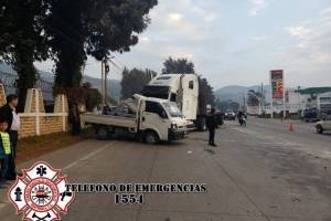 accidente en Km. 88 ruta Interamericana