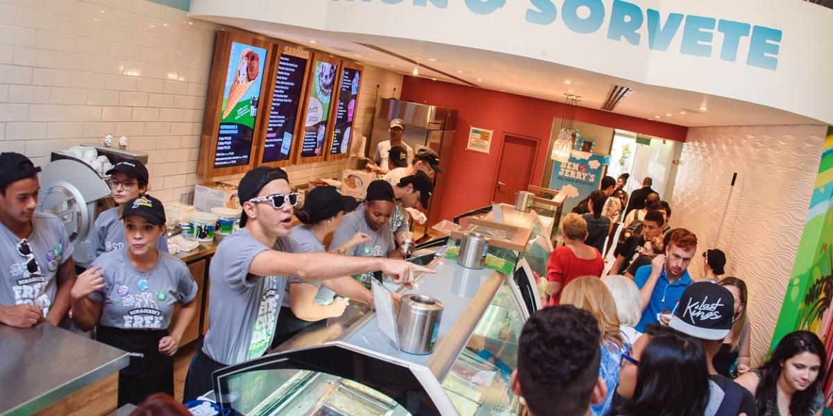 Dia de sorvete de graça! Ben & Jerry's distribui casquinhas em sete pontos de São Paulo
