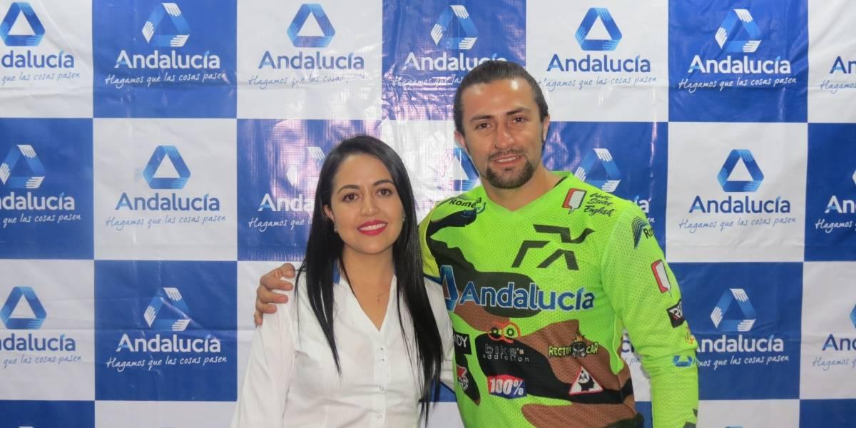 Cooperativa Andalucía brinda apoyo al deportista ecuatoriano Daniel Romero