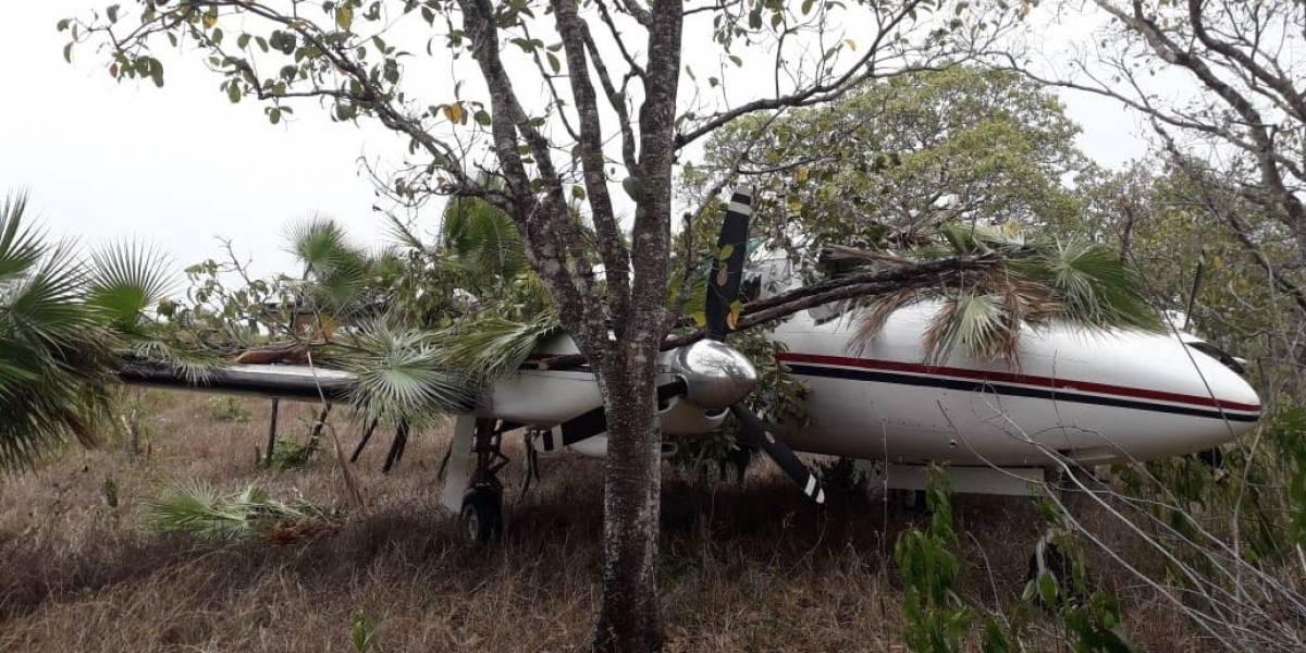 Detectan por medio de radares una aeronave que permanecía oculta en Petén