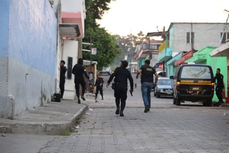 operativo contra el narcomenudeo en cuatro departamentos
