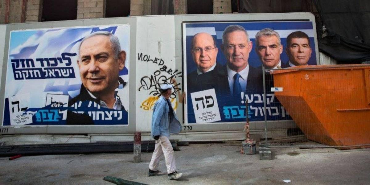 Israel elegirá nuevo gobierno, Netanyahu marcha como favorito