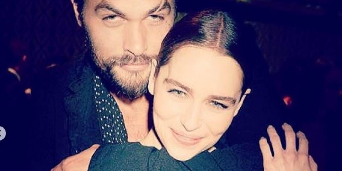 """Las escenas más impactantes entre Jason Momoa y Emilia Clarke en """"Game of Thrones"""""""