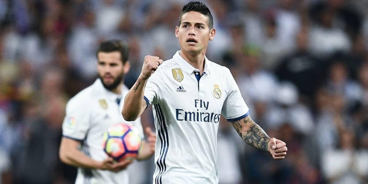 ¿De nuevo? El inesperado guiño de James para poder regresar al Real Madrid