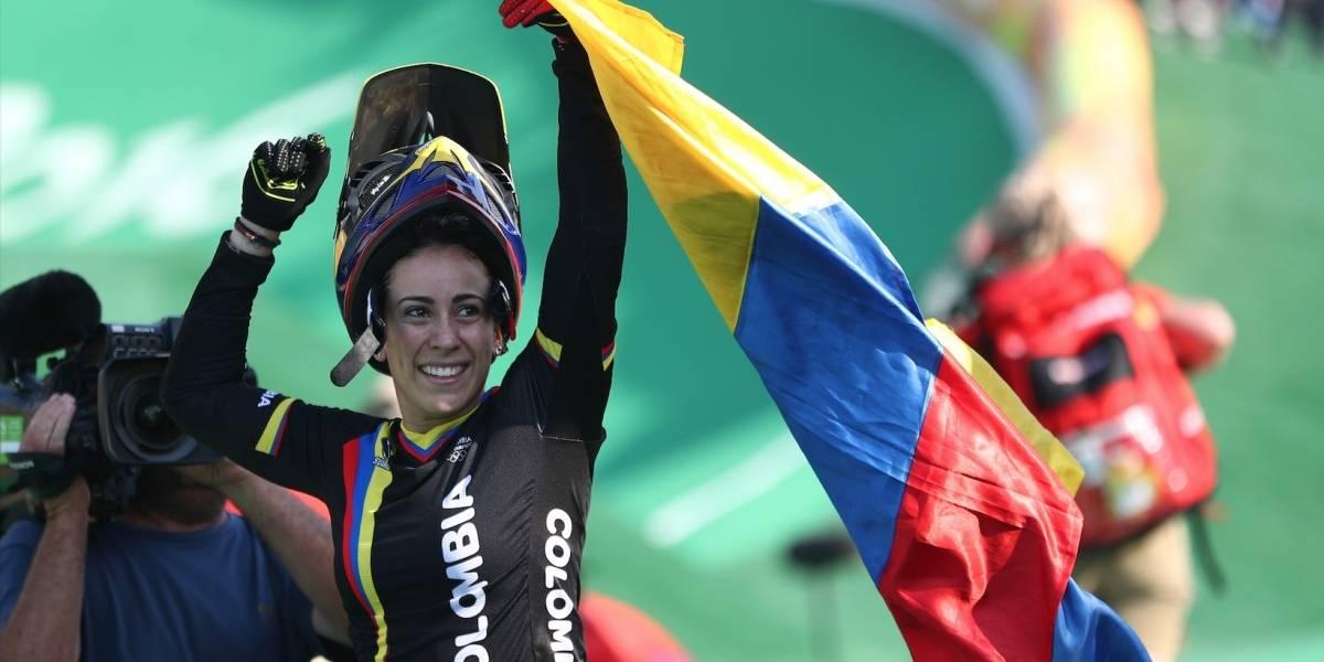 ¡Regresó con toda! Mariana Pajón se coronó campeona de la Copa Sudamericana de BMX