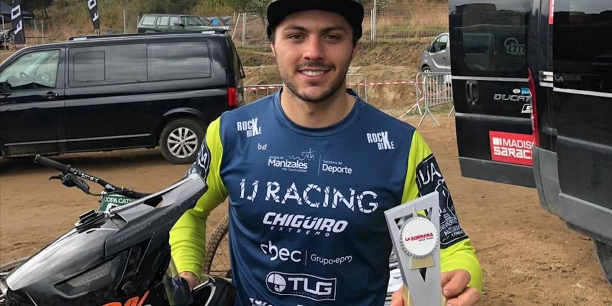 ¡Continúa brillando! Rafael Gutiérrez fue segundo en la Copa Catalana de Downhill