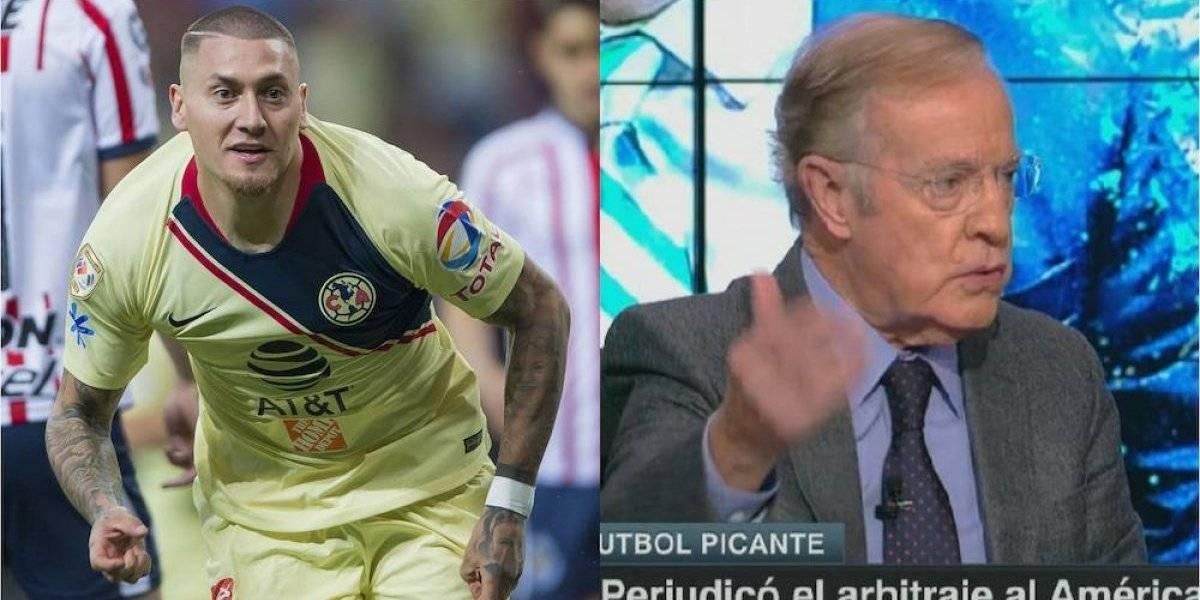 Nico Castillo y José Ramón Fernández intercambian insultos