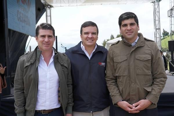 Cervecería Nacional y agricultores locales firmaron contratos de 'Siembra Cebada'