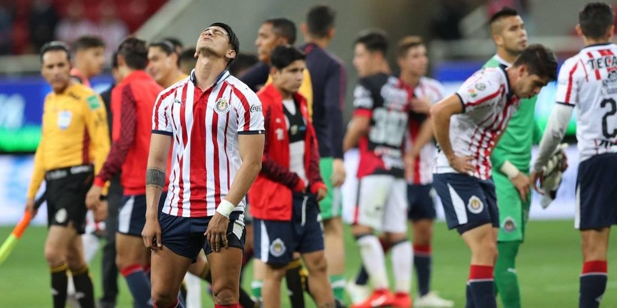 Chivas se enfila a dos años sin entrar a Liguilla