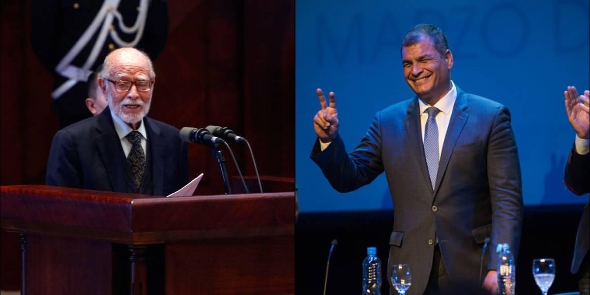 """Julio César Trujillo: """"Haré todo lo posible porque Rafael Correa vaya a la cárcel"""""""