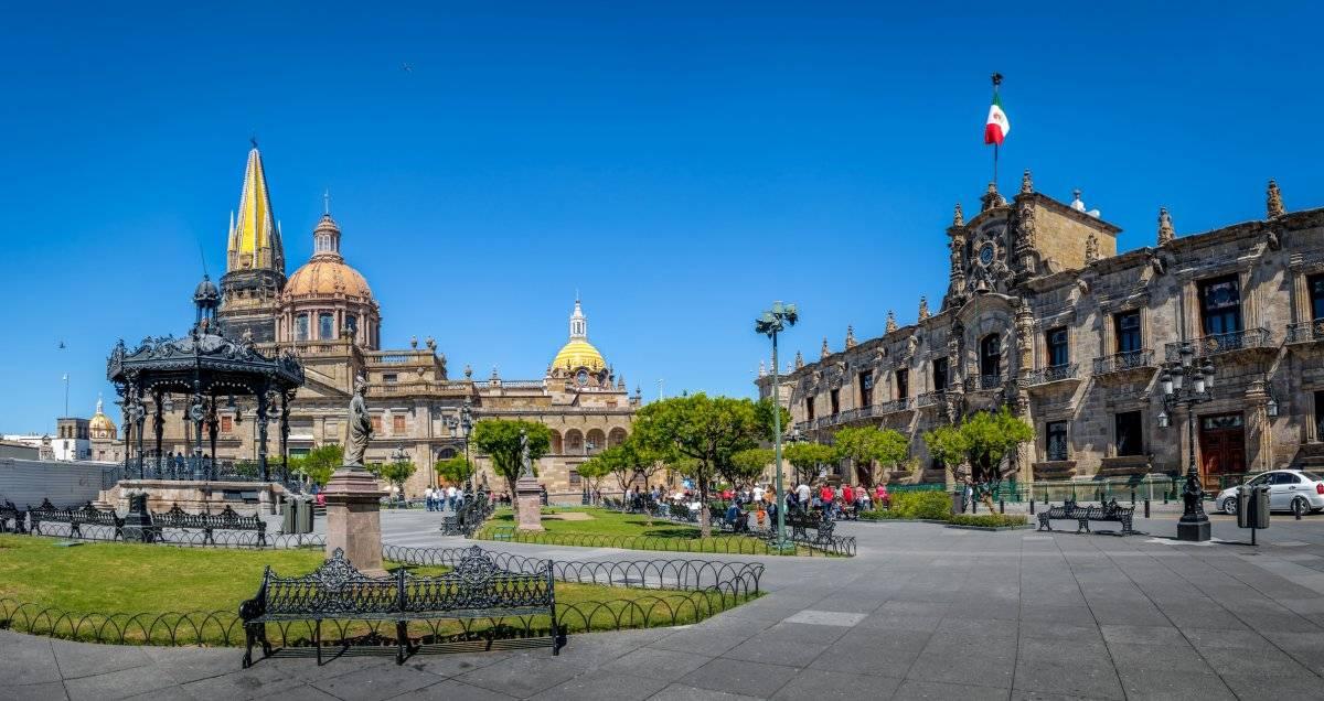 Vista de la ciudad de Guadalajara