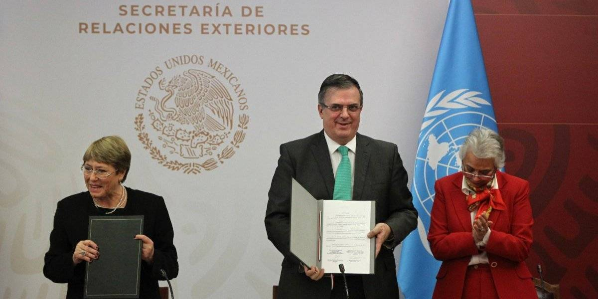 Bachelet intercedió: México firma con la ONU convenio para encontrar a desaparecidos de Ayotzinapa