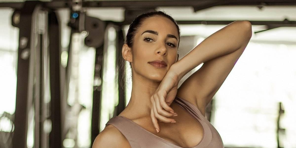 Esta es la rutina de ejercicios Fairuz, la hermana fitness de Andrea Valdiri