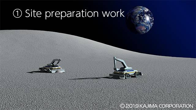 Japón planea construir la primera base para astronautas en la Luna de forma completamente remota