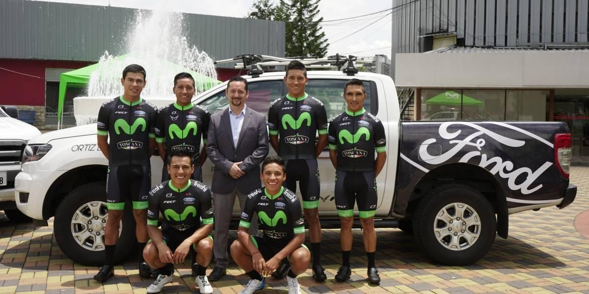 Ford apoya al Movistar Team Ecuador 2019