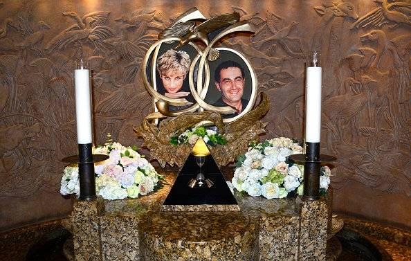 Diana y Dodi