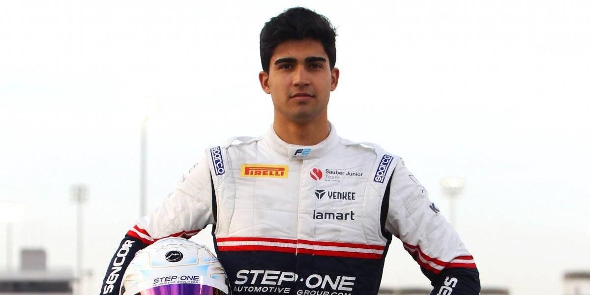 Juan Manuel Correa a 'pocos kilómetros' de llegar a la F1