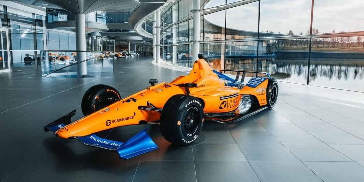 Revelan el auto con el que Fernando Alonso correrá las 500 Millas de Indianápolis