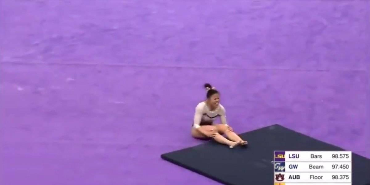 La desconsolada petición de la gimnasta que se fracturó ambas piernas