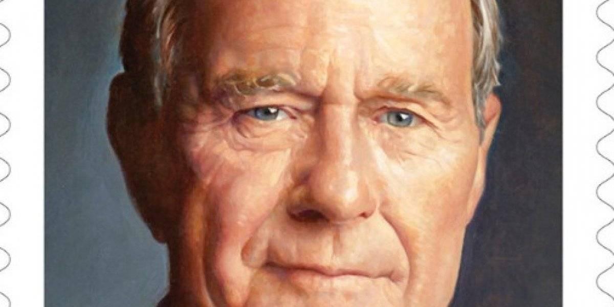Servicio Postal de EE. UU. emitirá timbre en honor a Bush