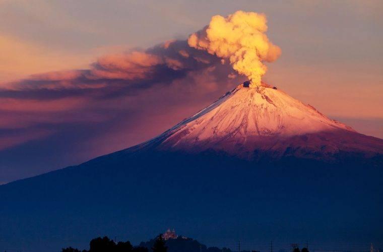 Popocatépetl México