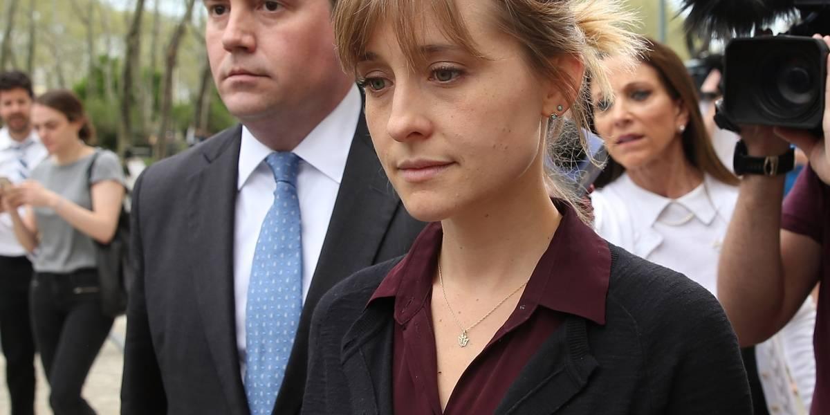 """Esta sentencia podría recibir la actriz Allison Mack de la serie """"Smallville"""""""