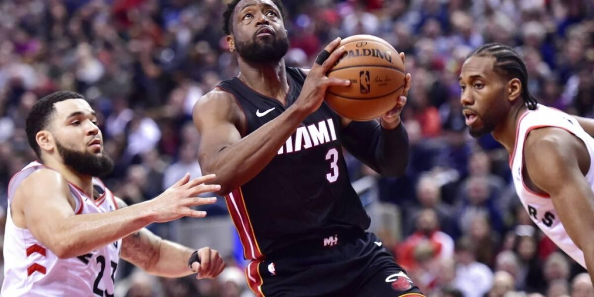 Dwayne Wade dice adiós a la duela con emotivo homenaje del Heat