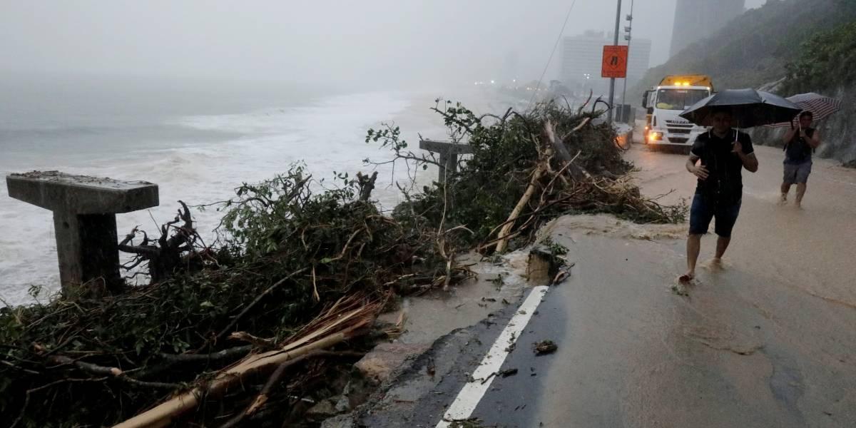 Estágio de crise: Imprensa internacional repercute forte temporal no Rio de Janeiro