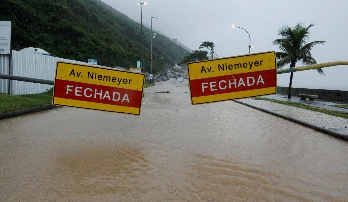 Chuva Rio de Janeiro