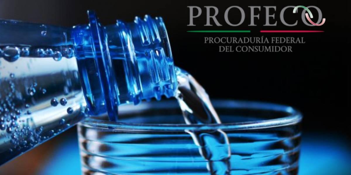 La Profeco decide ir en contra de las aguas alcalinas en México y les pide pruebas científicas sobre sus beneficios