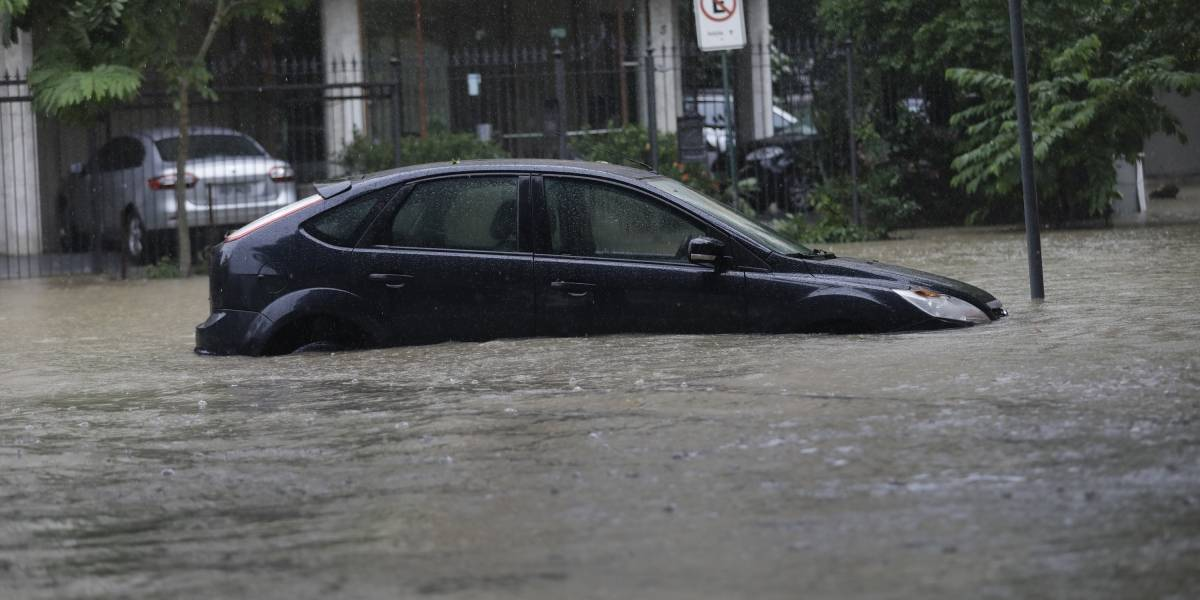 Los impactantes registros del temporal de lluvia en Brasil