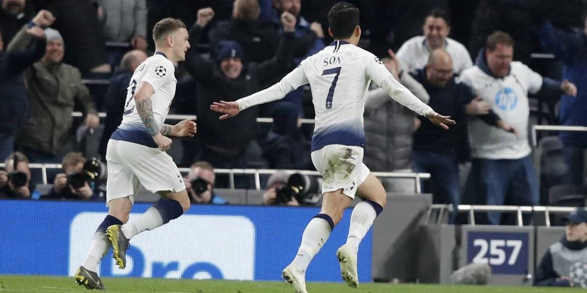 Tottenham se hizo fuerte en casa, bajó a Manchester City y sueña con las semifinales de la Champions League