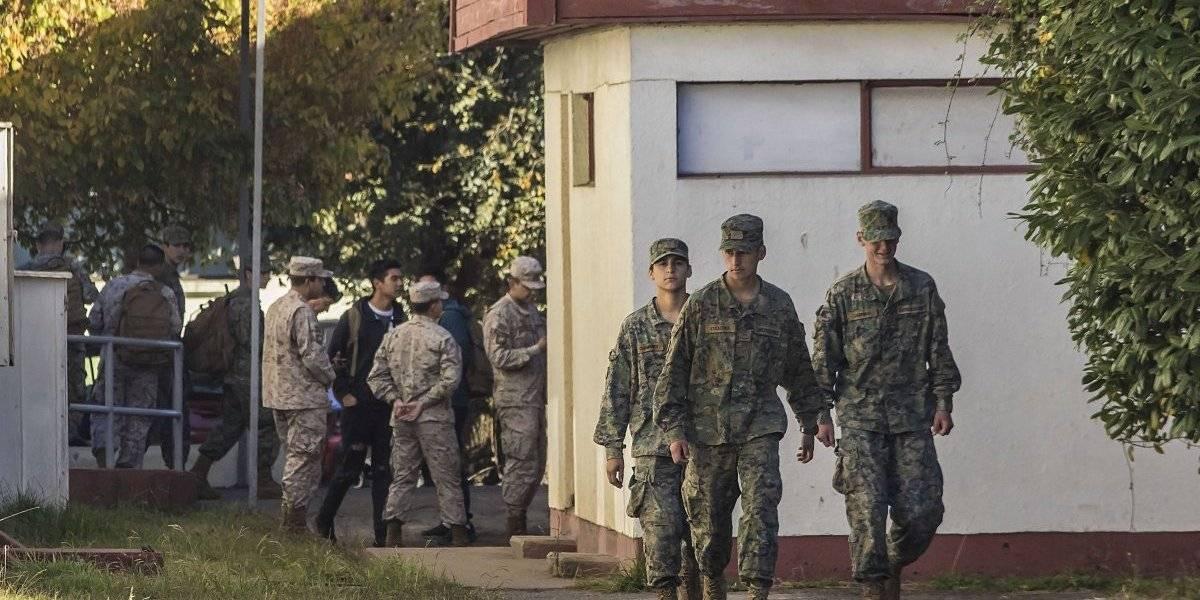 """Comandante del Regimiento Chacabuco explica asalto a conscriptos :""""Tienen instrucción militar, pero los atacaron de manera sorpresiva"""""""