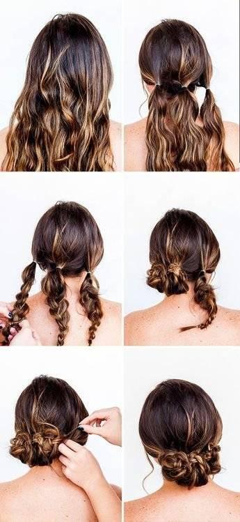 Peinados recogidos fáciles