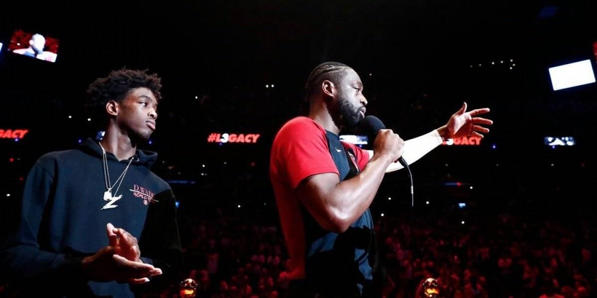 El brillante Dwyane Wade se despidió de la NBA con un triunfo en Miami Heat