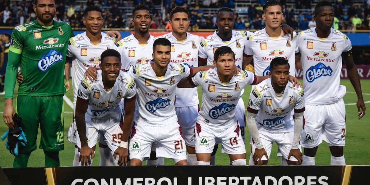 ¡Dura prueba! Tolima se juega su primera vida ante Paranaense en Copa Libertadores