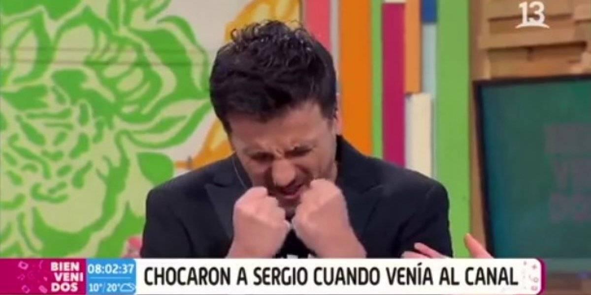 """Sergio Lagos tras ser chocado por una micro: """"Estoy indignadísimo ¡siento mucho odio!"""""""