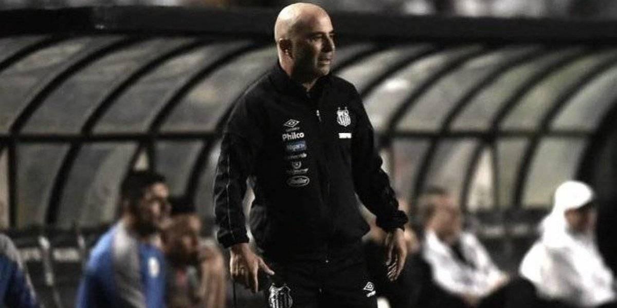 Santos de Sampaoli quedó eliminado del torneo Paulista tras perder un dramático duelo con Corinthians