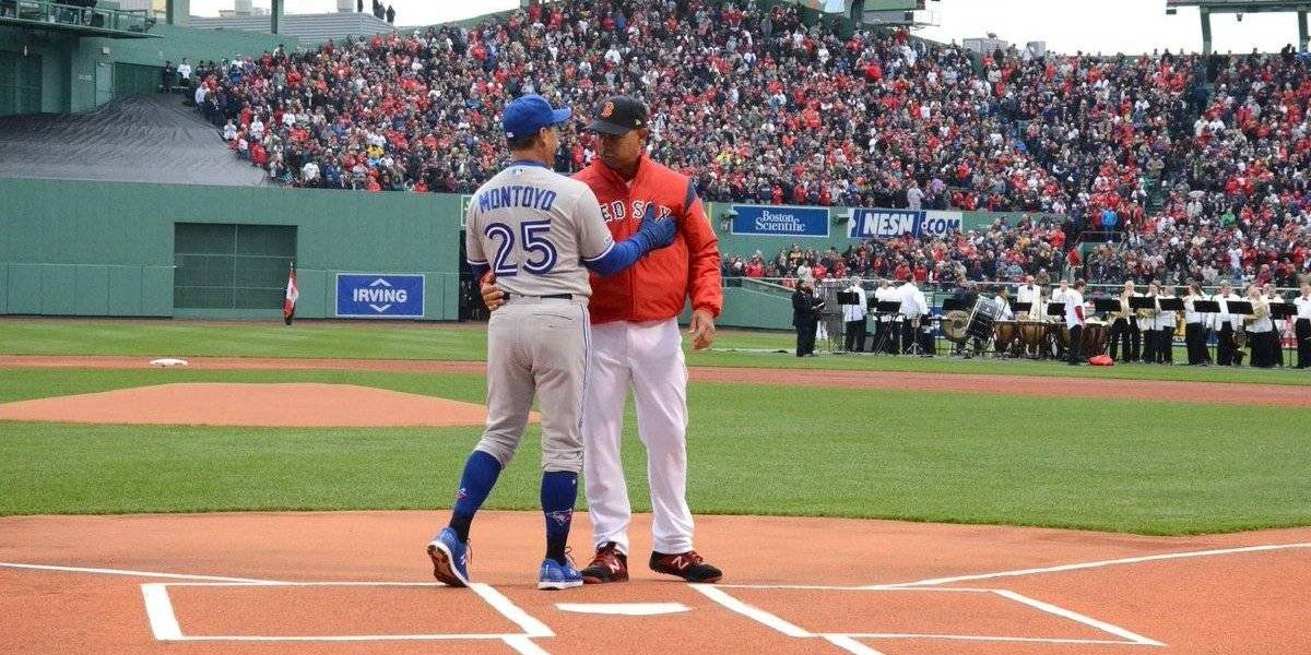 Charlie Montoyo le ganó el primer juego a Cora en Boston