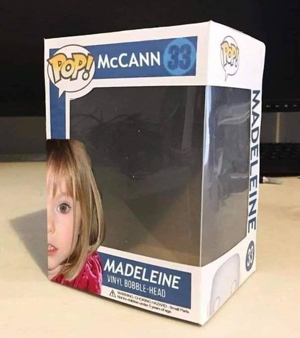 funko pop de madeleine mccann