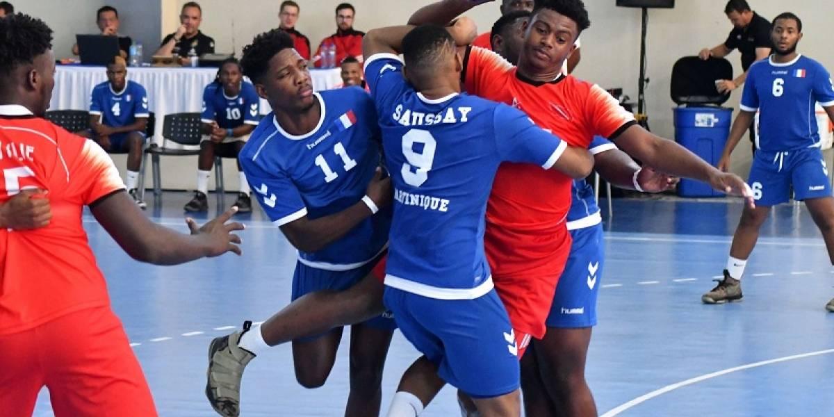 Martinica triunfa en debut campeonato balonmano masculino