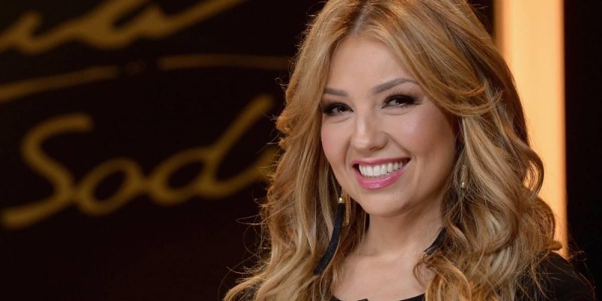 """VIDEO: Thalía revela que """"Sangre"""" es una canción dedicada a un trágico amor, quien murió inesperadamente"""