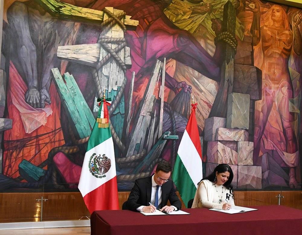 Hungría dona a México 135 millones de pesos para reparar iglesias