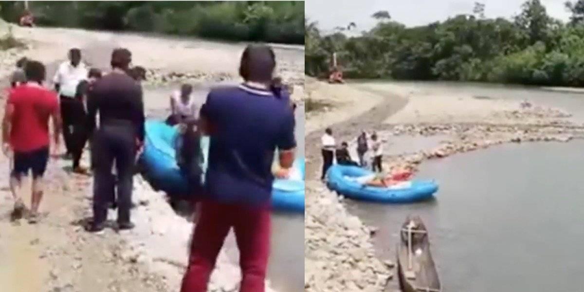 Rescatan cuerpo de ciudadano francés arrastrada por el río Puyo
